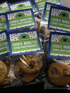 cookie monster choc-chips