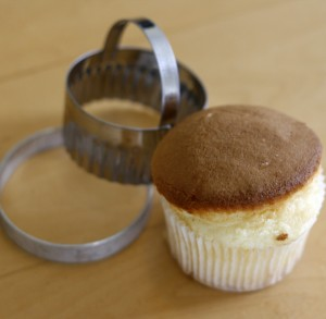 cupcake and cutters