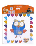Giggle & Hoot placemat pack
