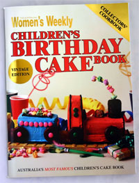 AWW Children's Birthday Cake Book Vintage Edition
