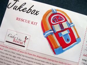 Jukebox Cake Kit