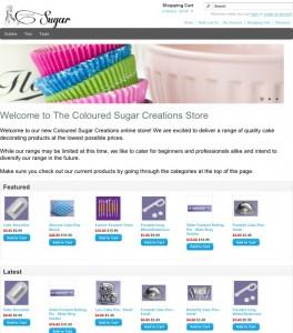 Online Store Homepage